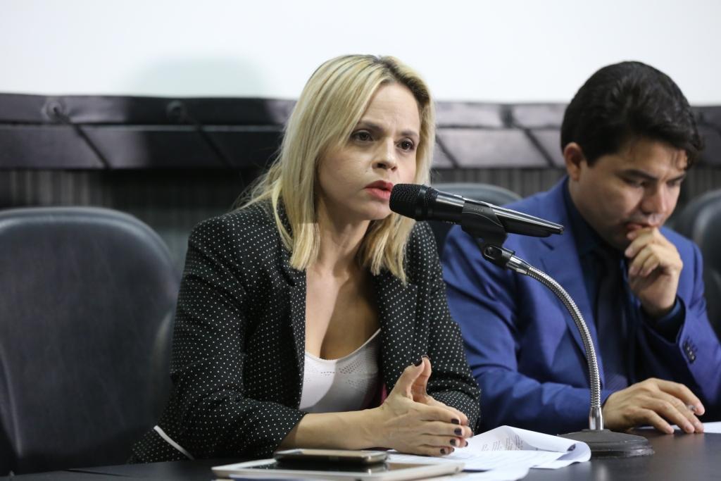 Juíza Lorena Sotto-Mayor, magistrada titular da 7ª Vara Criminal da Capital.