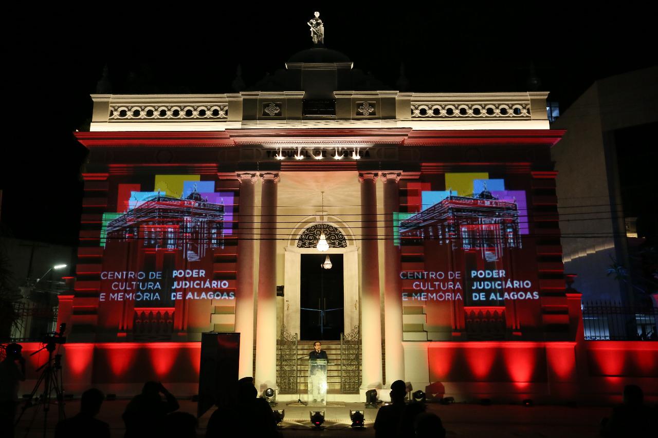 Presidente Tutmés Airan afirmou que o museu coroa toda a sua gestão e sua concepção do papel do Judiciário na vida das pessoas. Foto: Caio Loureiro