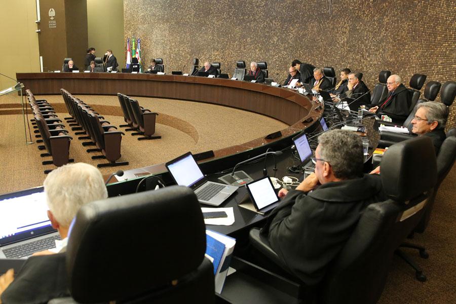 Pleno do Tribunal de Justiça de Alagoas em 6 de março.