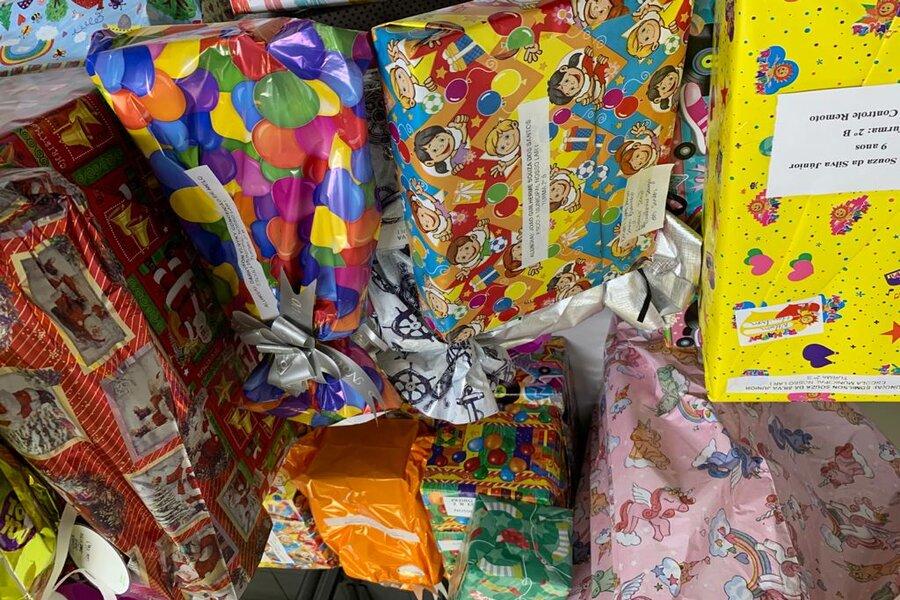 Todos os protocolos de higiene serão seguidos durante a entrega dos presentes para as crianças.