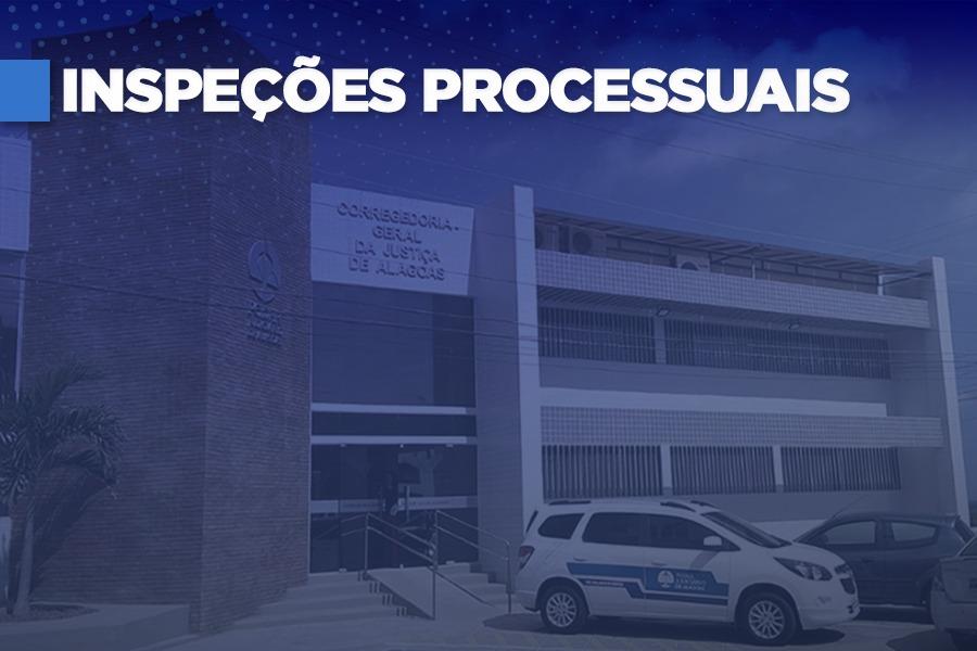 Mais de 11 mil processos inspecionados em todo o Estado