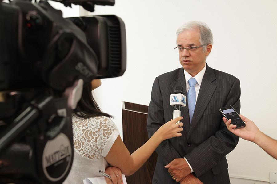 Juiz Ricardo Cavalcante, presidente da Turma Recursal.