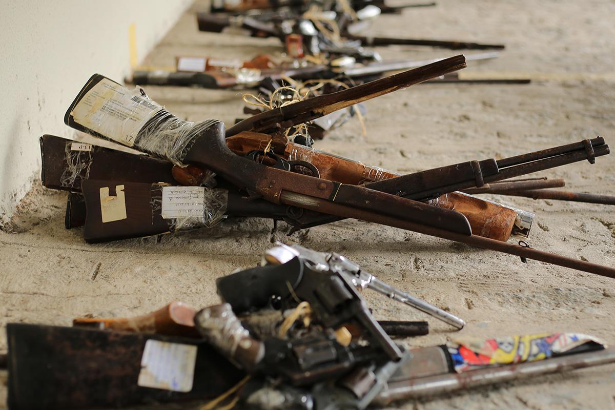 Destruição atende à Resolução nº 134/2011 do CNJ. Foto: Itawi Albuquerque