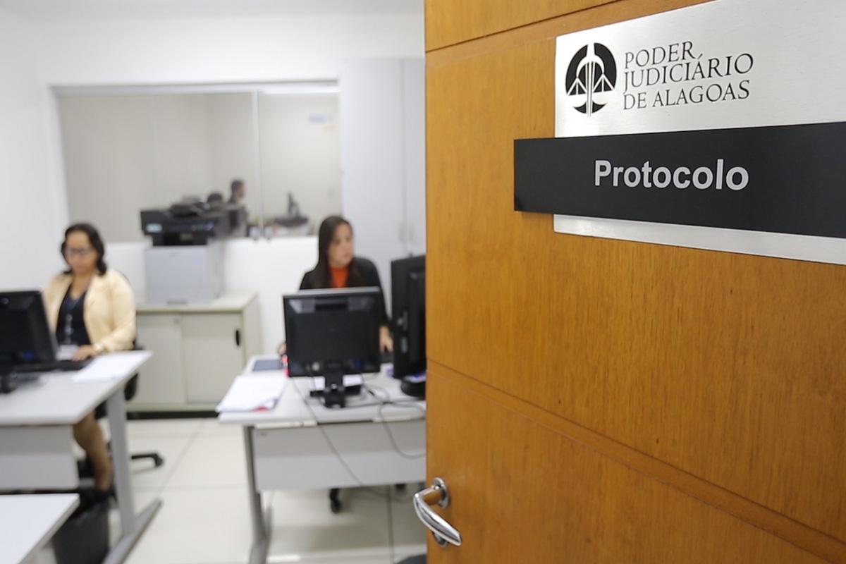 Setor de protocolo auxilia CGJ/AL no recebimento e triagem de documentos