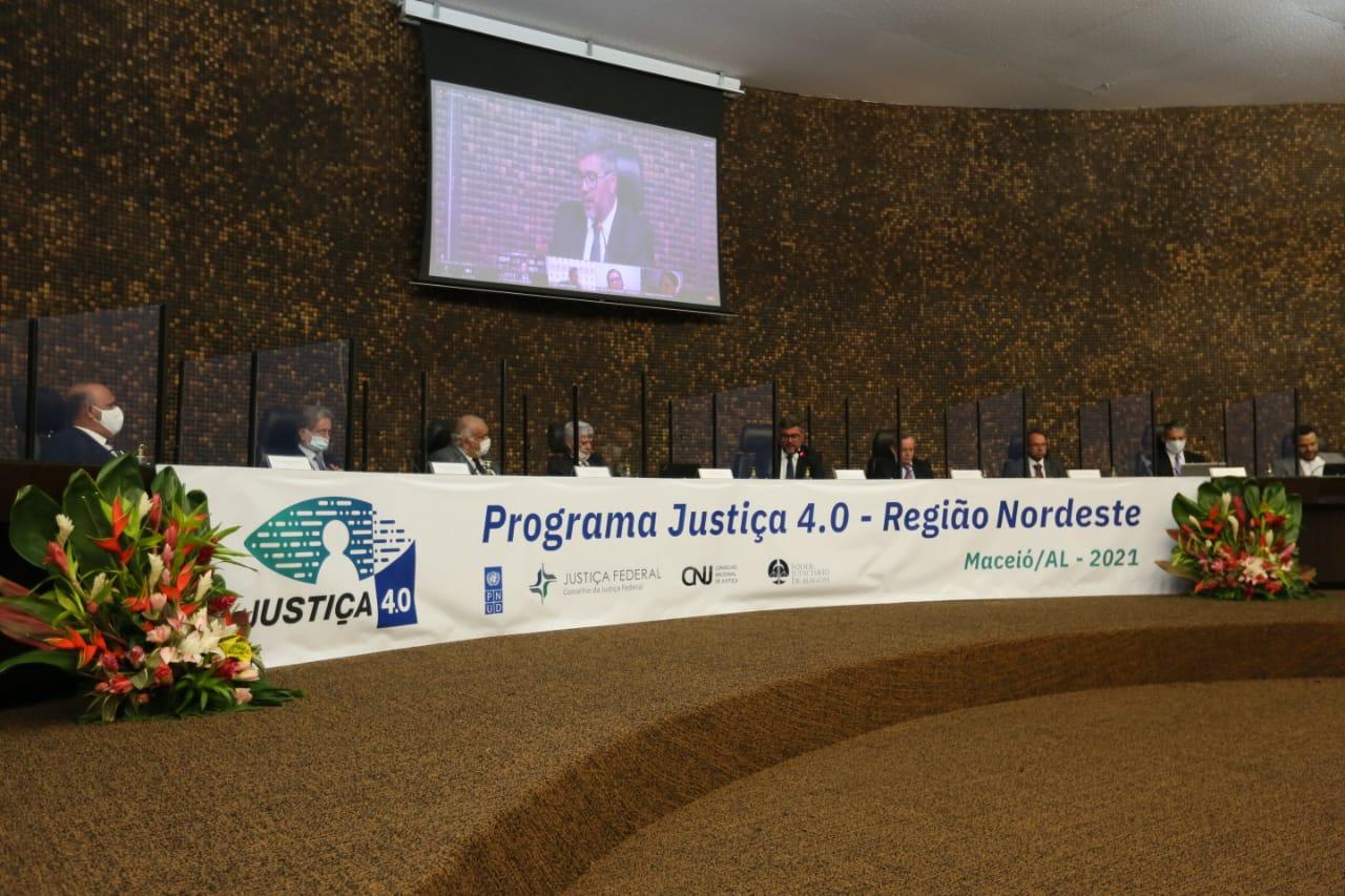 TJAL sedia, nesta quinta (14) e sexta (15), reunião do CNJ sobre o Justiça 4.0.