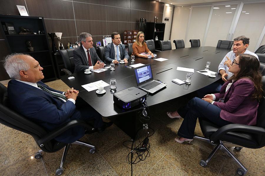 Departamento de Engenharia e Arquitetura apresentou projeto ao presidente Otávio Praxedes.