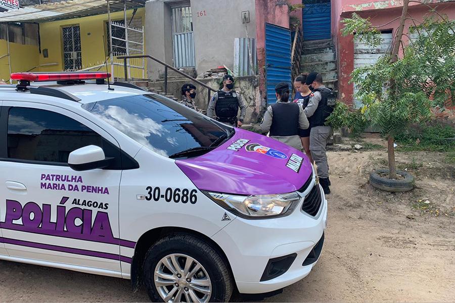 Em dois meses, Patrulha Maria da Penha atende 356 mulheres em Arapiraca