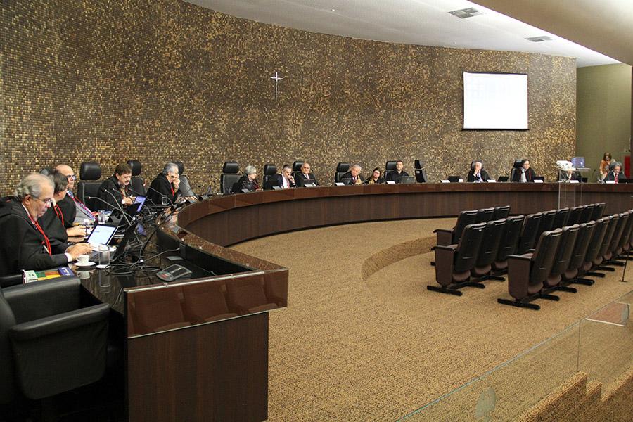 Pleno do Tribunal de Justiça de Alagoas, em sessão no dia 15 de agosto.