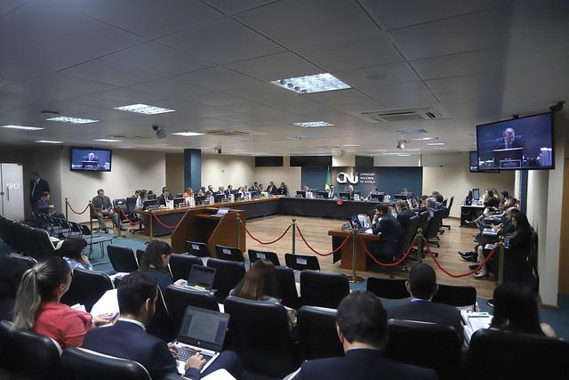 Plenário do Conselho Nacional de Justiça (CNJ).