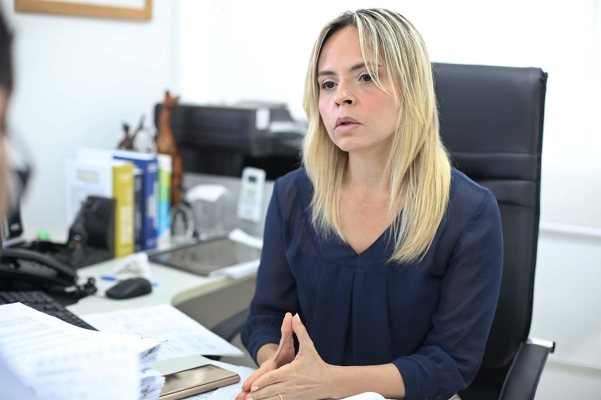 Magistrada é a presidente da comissão de aperfeiçoamento do Extrajudicial. Foto: Itawi Albuquerque