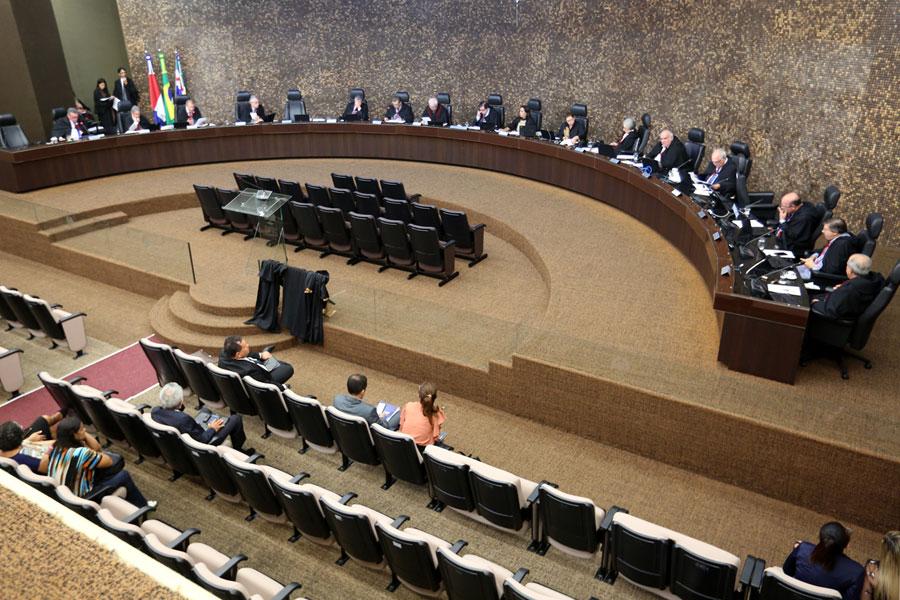 Sessão Plenária do Tribunal de Justiça de Alagoas na terça-feira (5).