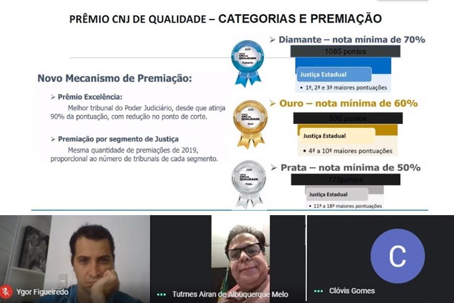 Presidente Tutmés Airan explicou que é necessário alinhar as ideias e ações para os números refletirem na premiação.