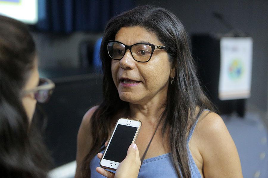 Luzia Rodrigues, psicopedagoga e servidora do PCJE.