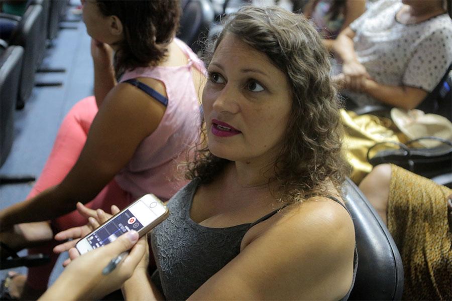 Jofesa Ferreira, psicóloga da Comunidade Acolhedora Paz em Cristo.