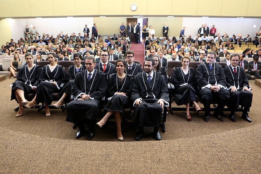 Juízes foram empossados na tarde desta terça-feira (4), na sede do TJ/AL.