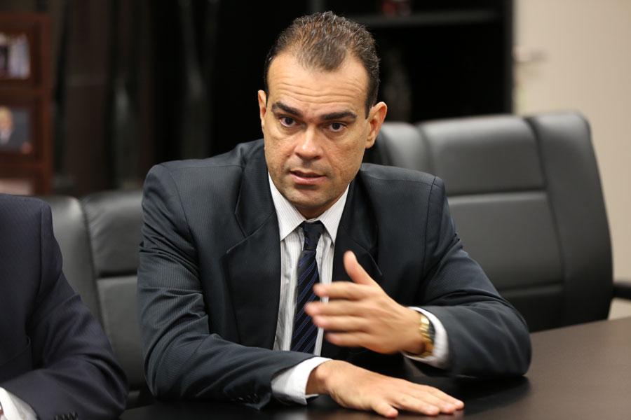 Juiz André Gêda Peixoto Melo, titular da 10ª Vara Cível de Arapiraca.