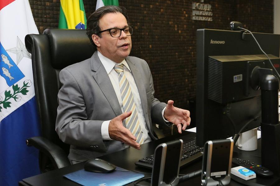 Presidente do TJAL, Tutmés Airan.