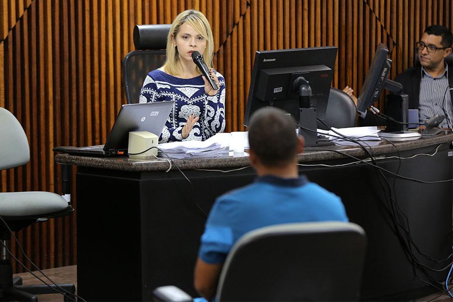 Juíza Lorena Carla Sotto-Mayor.