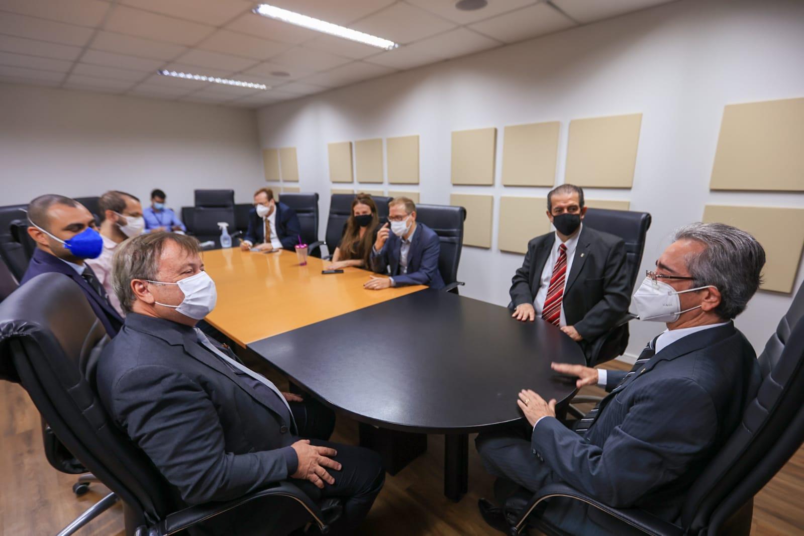 Corregedores do TJAL e MPAL dialogam sobre o SEEU, sistema do CNJ