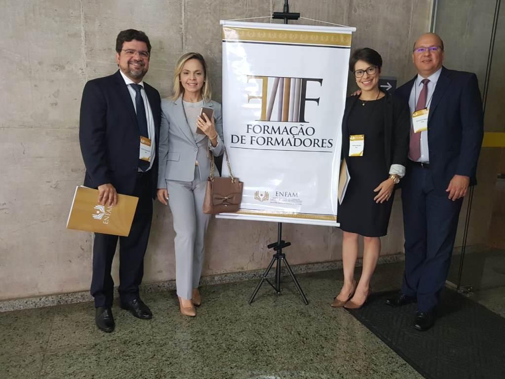 Qualificação promovida pela Enfam está sendo realizada em Brasília.