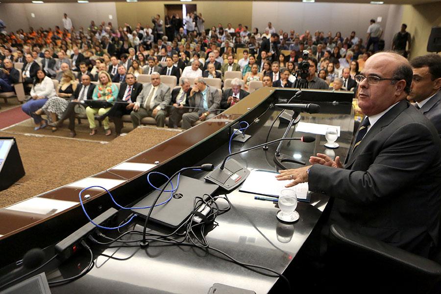 Desembargador Fernando Tourinho, presidente da Comissão de Virtualização do TJ/AL.