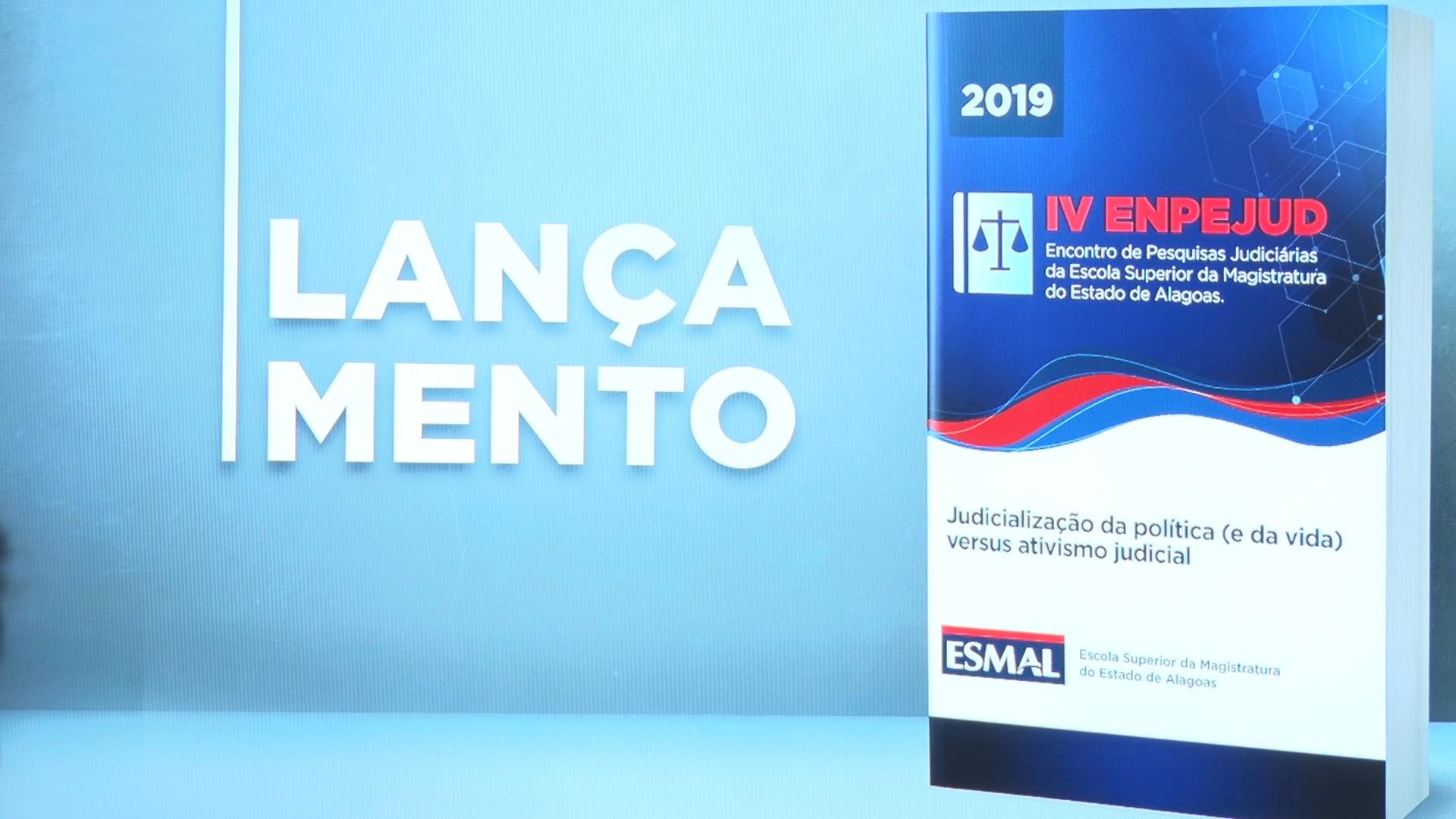 Esmal lança anais do IV Enpejud na 9ª Bienal do Livro de Alagoas