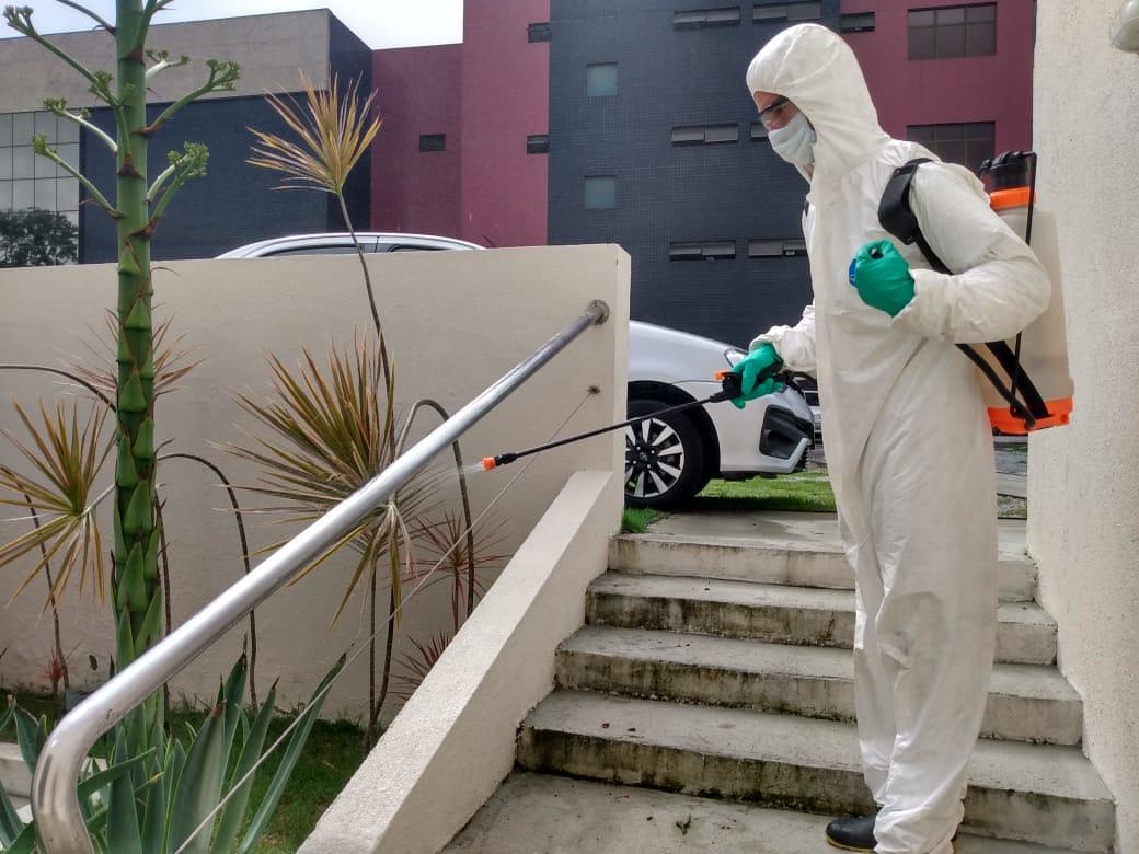 Prédios do Judiciário passam por nova desinfecção contra o coronavírus