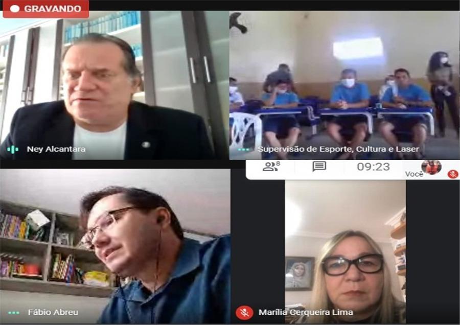 Judiciário faz roda de conversa virtual no Sistema Socioeducativo