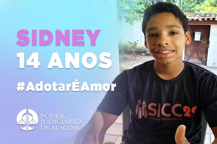Sidney Pereira da Silva, 14 anos #AdoçõesPossíveis