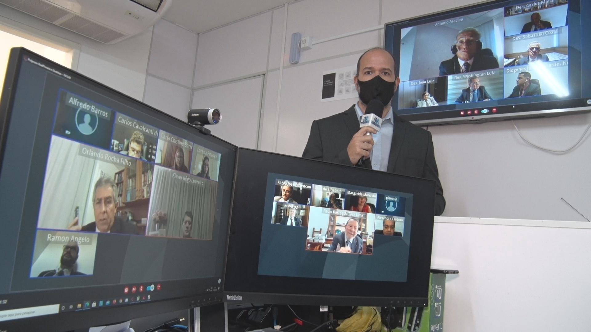 Quatro sessões virtuais julgam 500 processos no mesmo dia