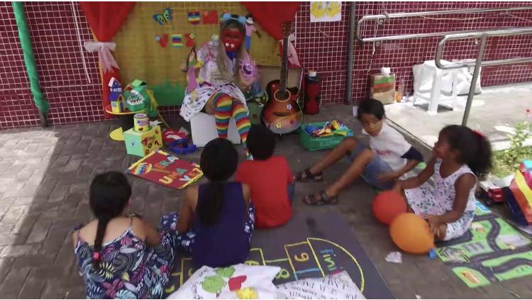 Ação da 2ª Vara de Rio Largo alegra crianças em processos de família