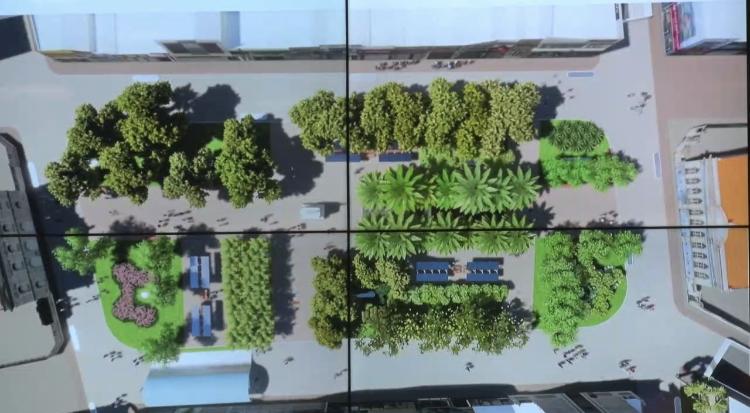 TJAL e Prefeitura discutem revitalização da Praça Deodoro